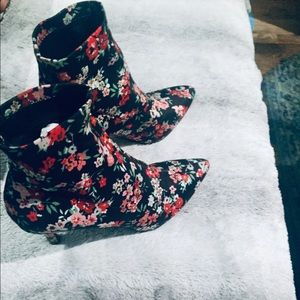 INC Ankle Sock Boot
